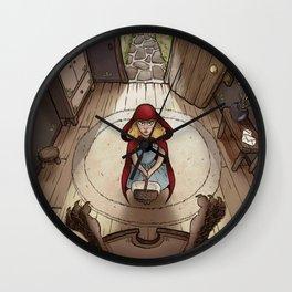Little Red Hood Wall Clock