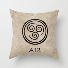 Avatar Last Airbender - Air Throw Pillow