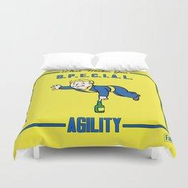 Agility S.P.E.C.I.A.L. Fallout 4 Duvet Cover