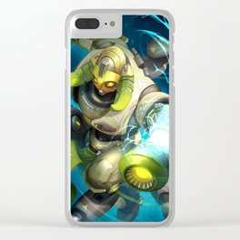 over orisa watch Clear iPhone Case