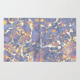 Complementary Paint Marble Rug