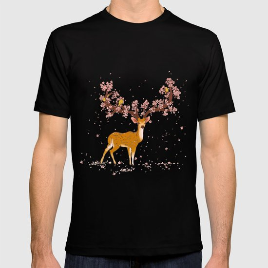 Blooming stag T-shirt