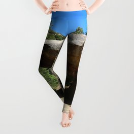 Tunnel Rock Generals Hwy in California Leggings