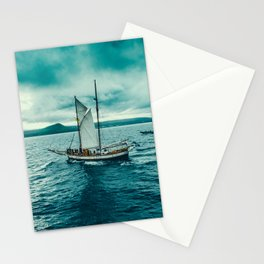 Whale spotting Iceland Stationery Cards