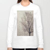 rain Long Sleeve T-shirts featuring Rain  by Laura Ruth