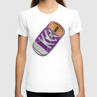 vans T-shirts featuring Cute Purple Vans all star baby shoes apple iPhone 4 4s 5 5s 5c, ipod, ipad, pillow case and tshirt by Three Second