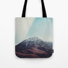 Mountains in the background XIII Tote Bag