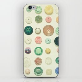 The Button Collection iPhone Skin