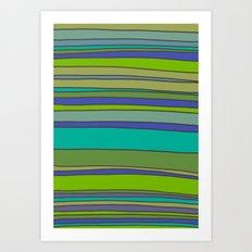 Stripes No. 2 Art Print