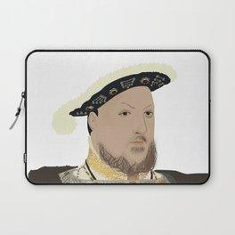 Henry VIII of England - transparent background Laptop Sleeve