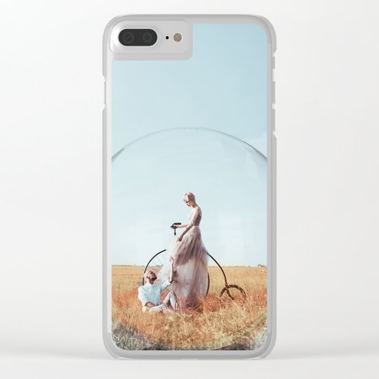 Our world Clear iPhone Case
