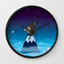 Where The Hell Am I ? Wall Clock