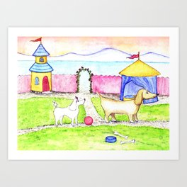 Do you want to play Art Print