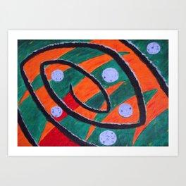 Cosmic Swirl Art Print