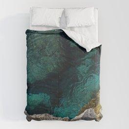 Cyprus Sea III Comforters