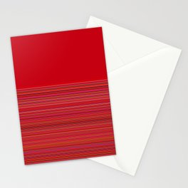 Re-Created  Color Field and Stripes 4 by Robert S. Lee Stationery Cards