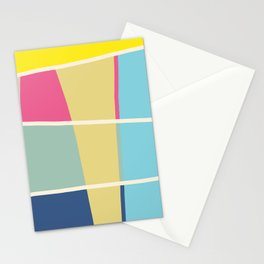 Colorful Pattern Mosaic Stationery Cards