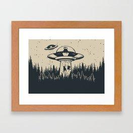 Unidentified Feline Object Framed Art Print