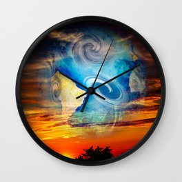 Beautiful world Wall Clock
