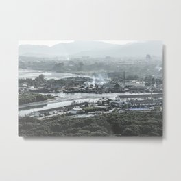 Fisherman Village Metal Print