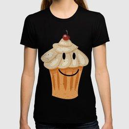 Happy Cute Pastry Breakfast Food T-Shirt T-shirt