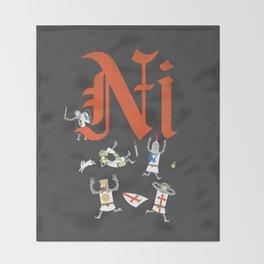 Ni! Throw Blanket