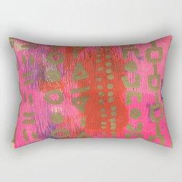 Magic Carpet #1 Rectangular Pillow