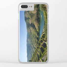 The Douro valley, Portugal Clear iPhone Case