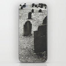tombstones iPhone & iPod Skin