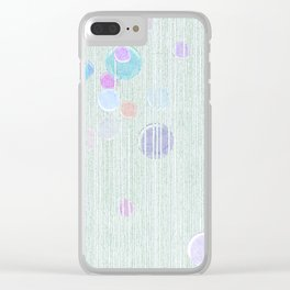 The grandeur of fragility. Clear iPhone Case