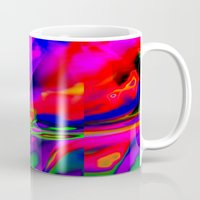 cracked Mugs featuring Cracked by David  Gough