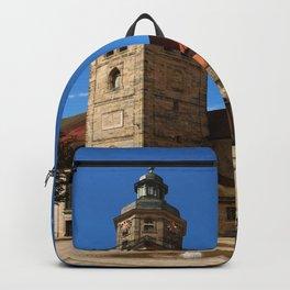 A Church In A Bavarian Village Backpack