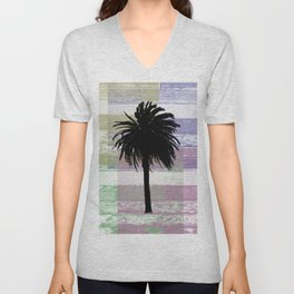 Palm and colors Unisex V-Neck