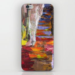 Mountain river bright image iPhone Skin