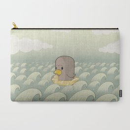 Chick Across the Sea Carry-All Pouch