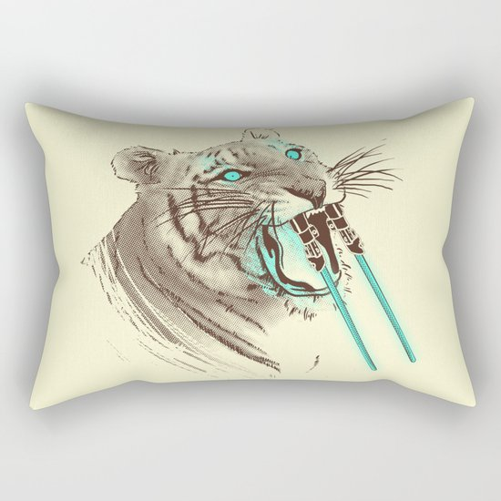 Saber-toothed Tiger Rectangular Pillow