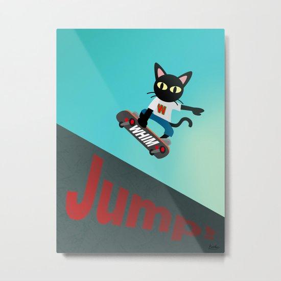Jump! Metal Print