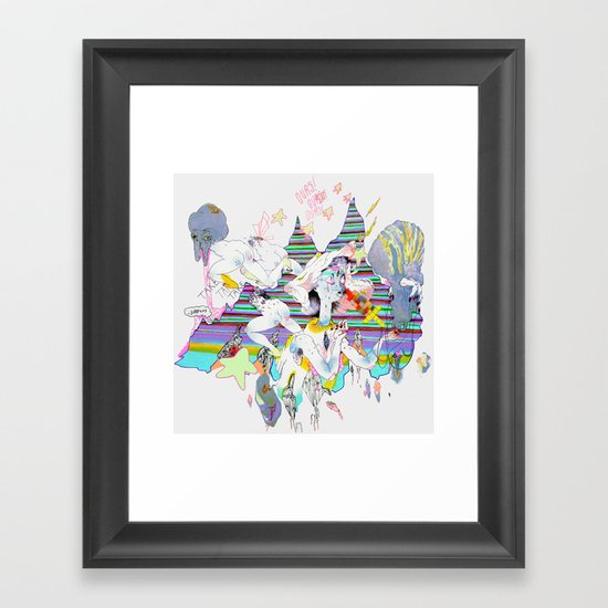 OURS OURS OURS Framed Art Print