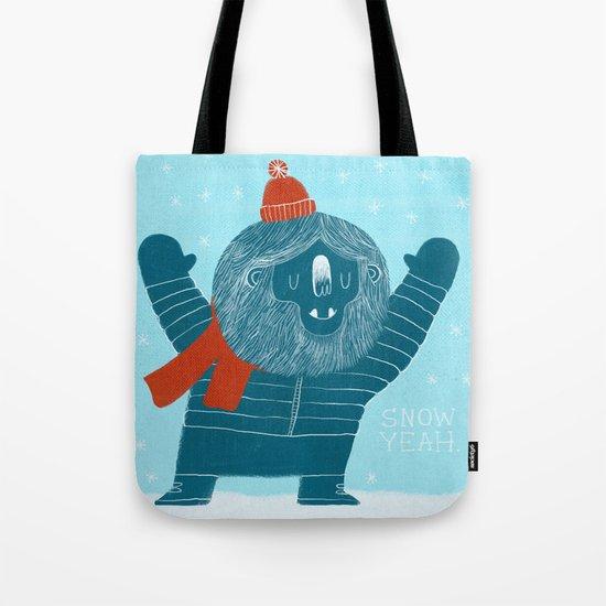 Snow Yeah Tote Bag