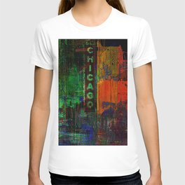 A night in Chicago T-shirt