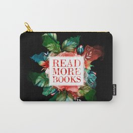 Read More Books - Black Carry-All Pouch