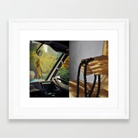 thailand Framed Art Prints featuring Thailand  by Maryse Kok