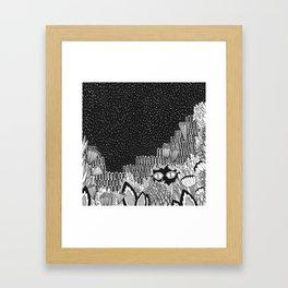 Botanical Doodle 1/3 Framed Art Print