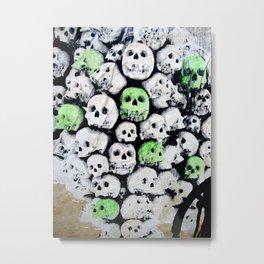SKULL, by Ludo Metal Print