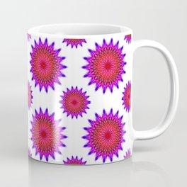 Pink,red and fuchsia color mandala Coffee Mug