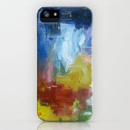 spring night fire iPhone Case