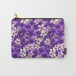 Ultra Violet Spring Carry-All Pouch