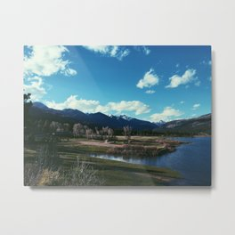 Through the Valley Metal Print