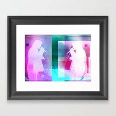 Alice Glass   Project L0̷SS   Framed Art Print