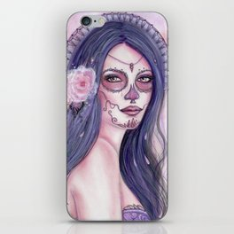 Chantilly Rose Day of the dead iPhone Skin